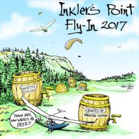 Inkler's Point Fly-In T-Shirts!